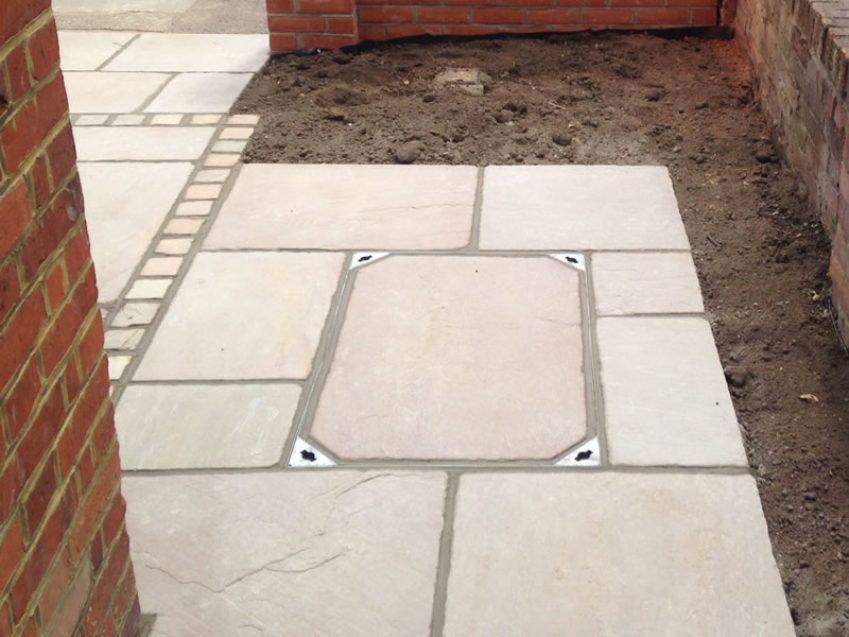 Recessed Manhole Cover 1 Covered Garden, Garden Ideas, Patio Ideas,  Conservatory, House