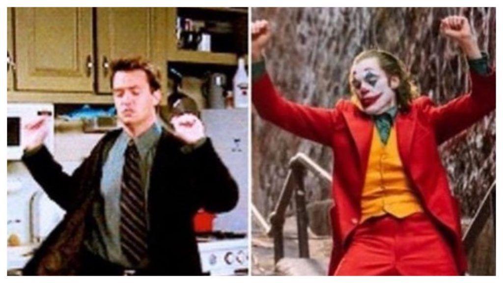 Joker Copied Matthew Perry's Chandler's Dance Steps! And
