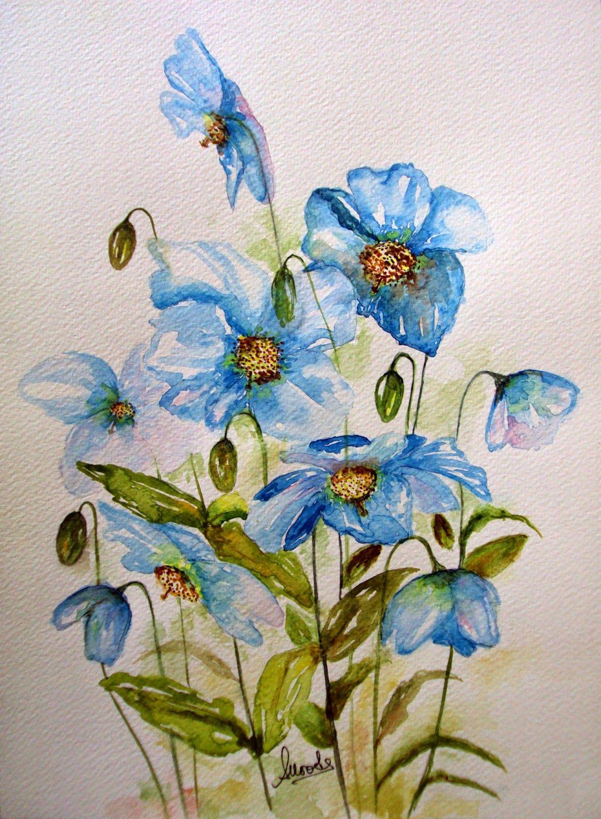Blooming Blue Beauties\