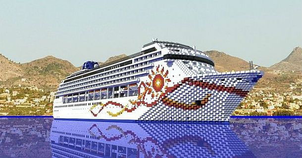 Norwegian Sun Cruise Ship Minecraft World Save Minecraft