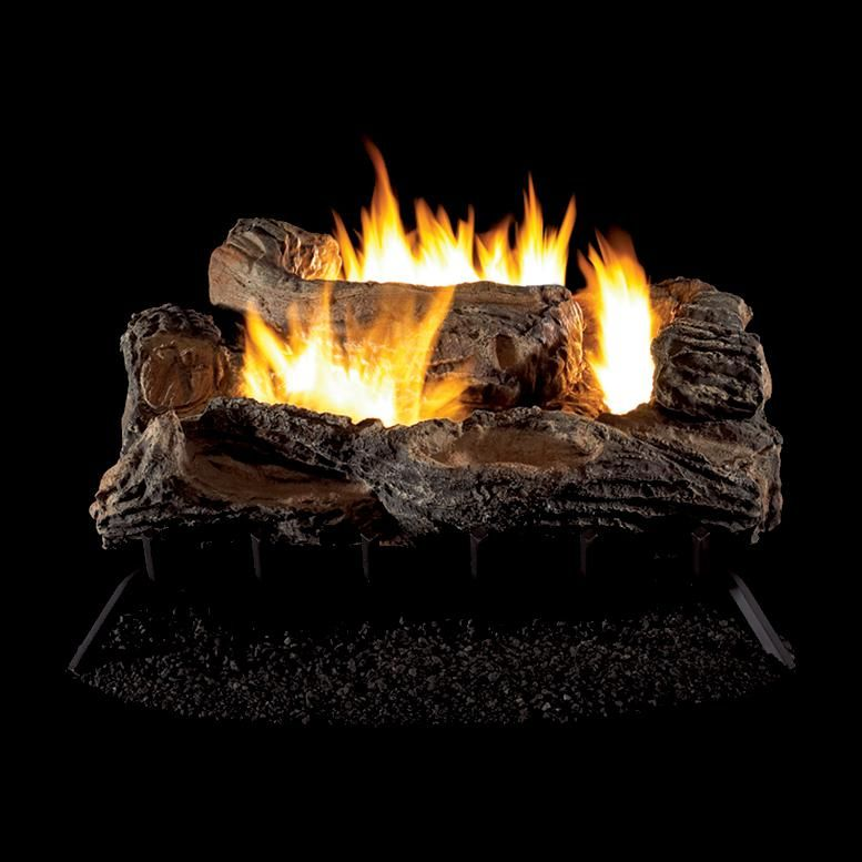 Superior Fireplaces 27 Inch Multi Sided Gas Log Set With Vent Free Propane Multi Sided Burner On Off Wall Switch Gas Fireplace Logs Superior Fireplace Vent Free Gas Fireplace