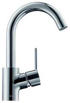 Hansgrohe 32070821 Brushed Nickel Talis S Talis S Bathroom Faucet    Contemporary   Kitchen Faucets