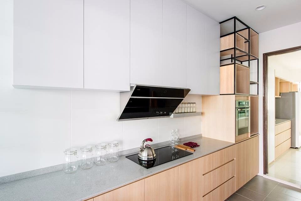14 Practical Wet And Dry Kitchens In Malaysia Recommend My Minimalist Kitchen Design Interior Design Kitchen Kitchen Design