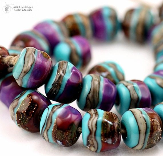 Lampwork Beads -- love these!