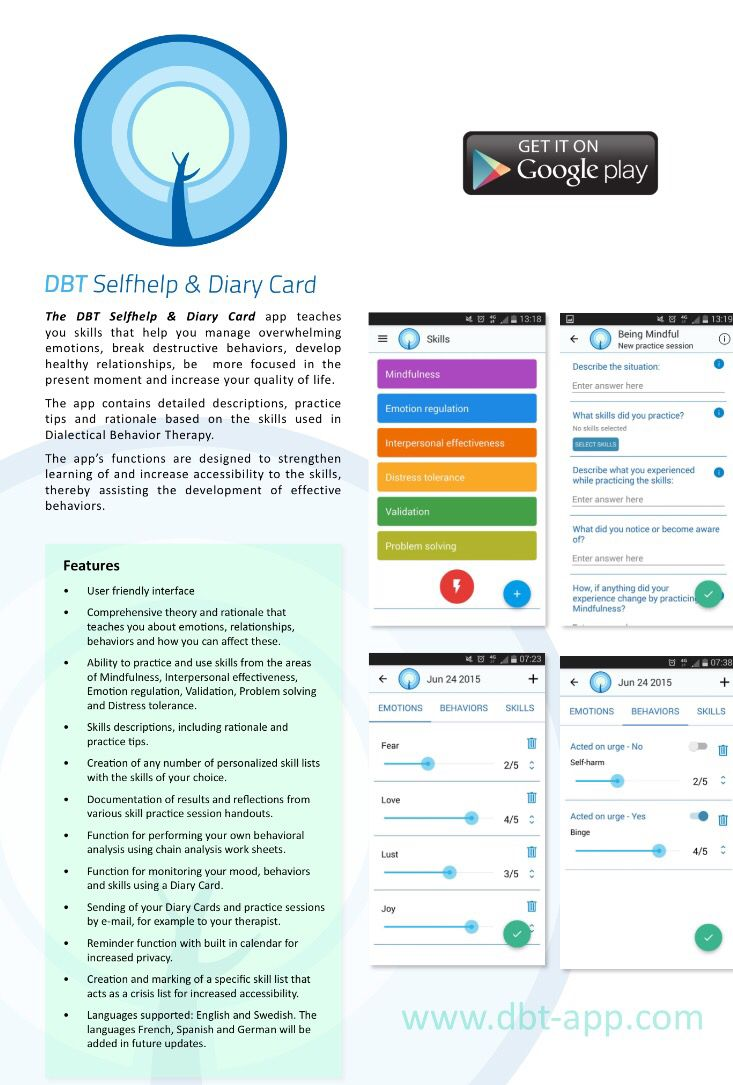 Here is a pdf with info about the new DBT Selfhelp & Diary Card app ...