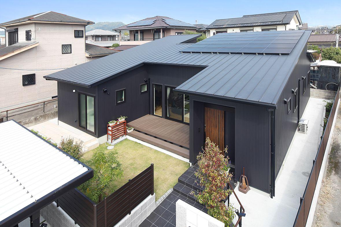 45 坪庭があるこだわり溢れる平屋のお家 画像あり 中庭のある家