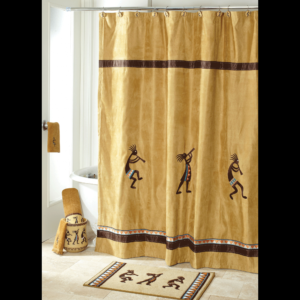 Avanti Linens Adirondack Pine Shower Curtain Multi