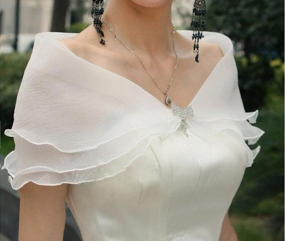 Fashion New Chiffon Scarf Pashmina For Cheongsam Evening