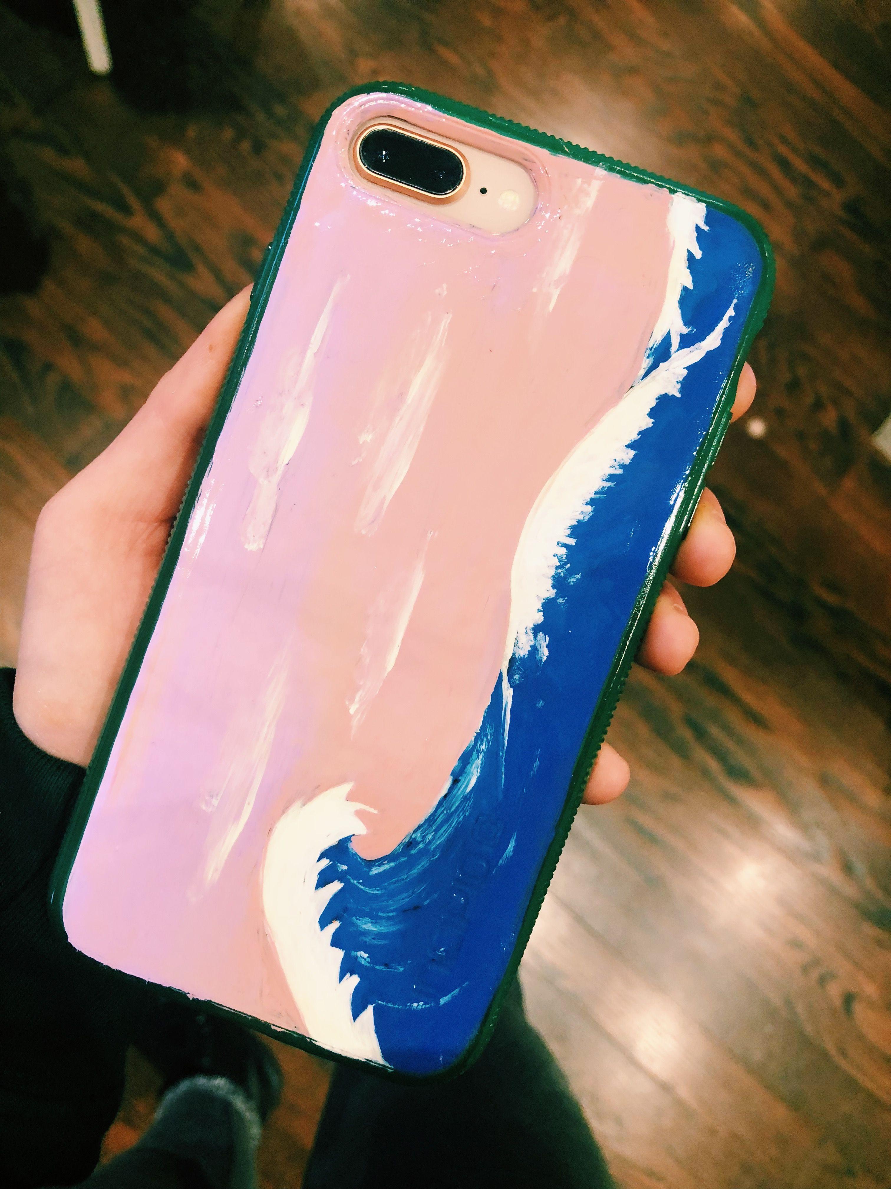 Hand Painted Phone Case Phone Case Diy Paint Diy Phone Case
