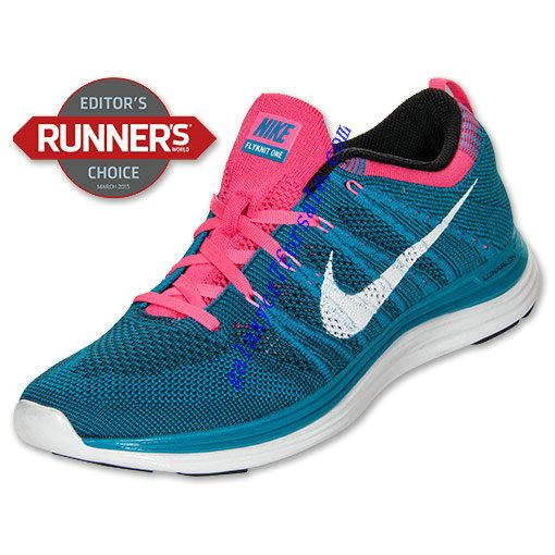 pretty nice 4772a b2535 Buy Nike Flyknit Lunar 1 Review Shoes Mens Neon Turq White Blue Pink 554887  414