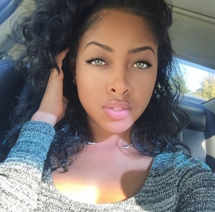 Gallery For Gt Beautiful Black Women With Green Eyes Black