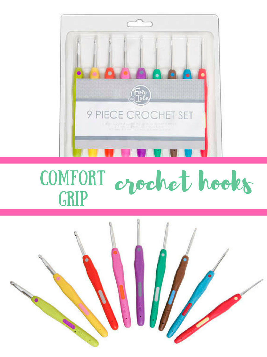 These look perfect for crocheting! Comfort grip hooks are the best! #aff