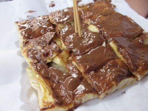 Nutella and Banana Pancakes - c… | Pancakes, Crepes, Crepe ...
