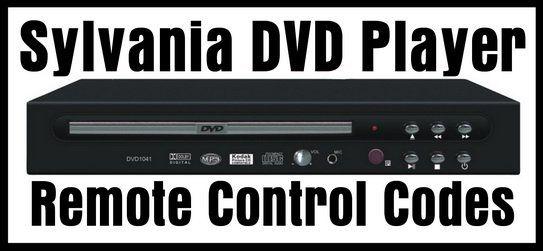 Sylvania DVD Player Remote Control Codes | DIY - Tips Tricks