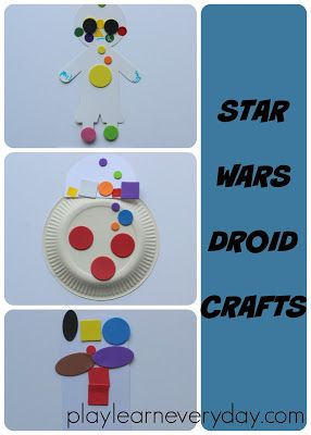 Star Wars Droid Crafts Star Wars Pinterest Crafts Crafts For