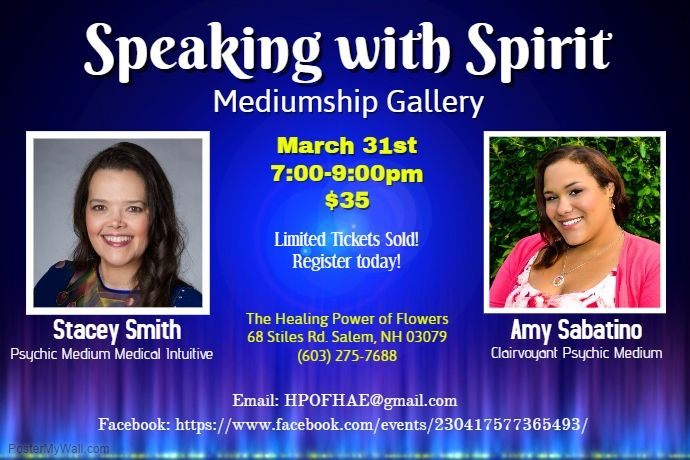 Speaking Spirit 3.31.17