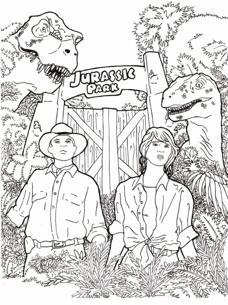 Jurassic World Coloring Page Unique Jurassic World Coloring Pages Best Coloring Pages For Kids Dinosaur Coloring Pages Cartoon Coloring Pages Coloring Books