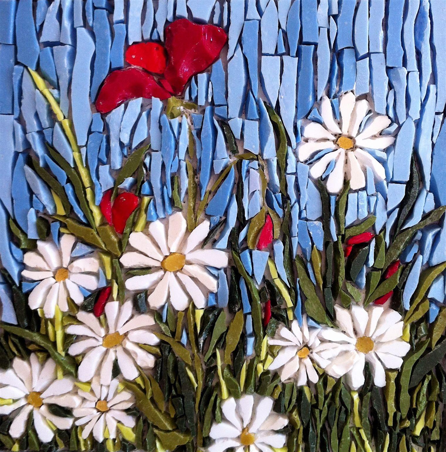"late summer"" - mosaic by kimmy mcharrie | mosaics | pinterest"