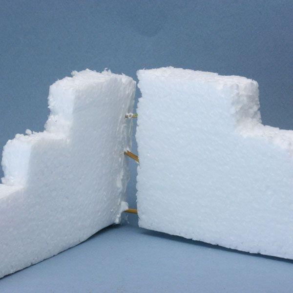 how to glue styrofoam to styrofoam