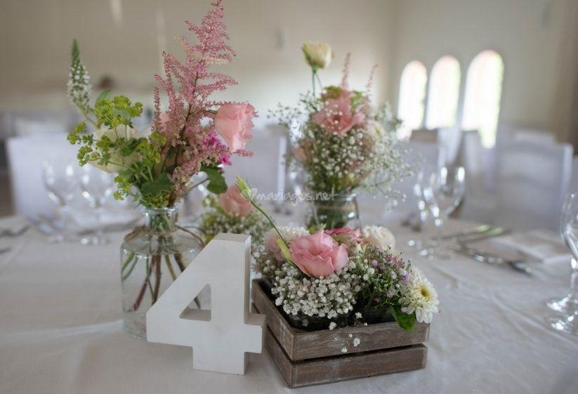 15 Id Es De Centres De Table Avec Fleurs Mariage And Wedding