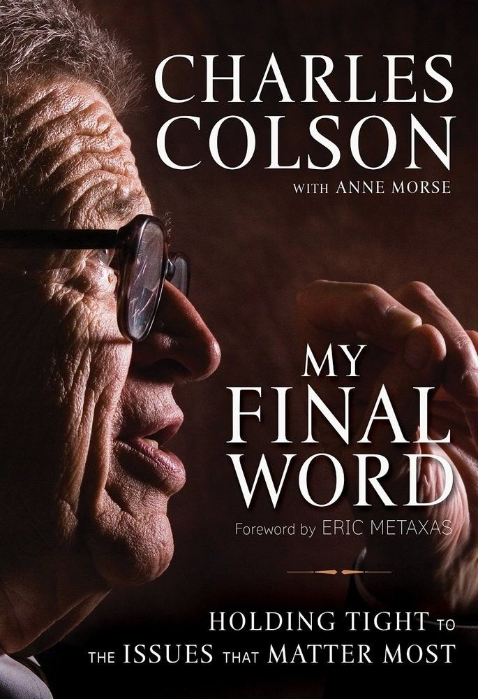 As Charles Colson's final published work, My Final Word: Holding Tight the Issues That Matter Most he shares his vision for a socially engaged church. A clarion call for Christians to critically think about the pressing issues of today--such as crime and systems of punishment, Islam, same-sex marriage, and the persecution of Christians.