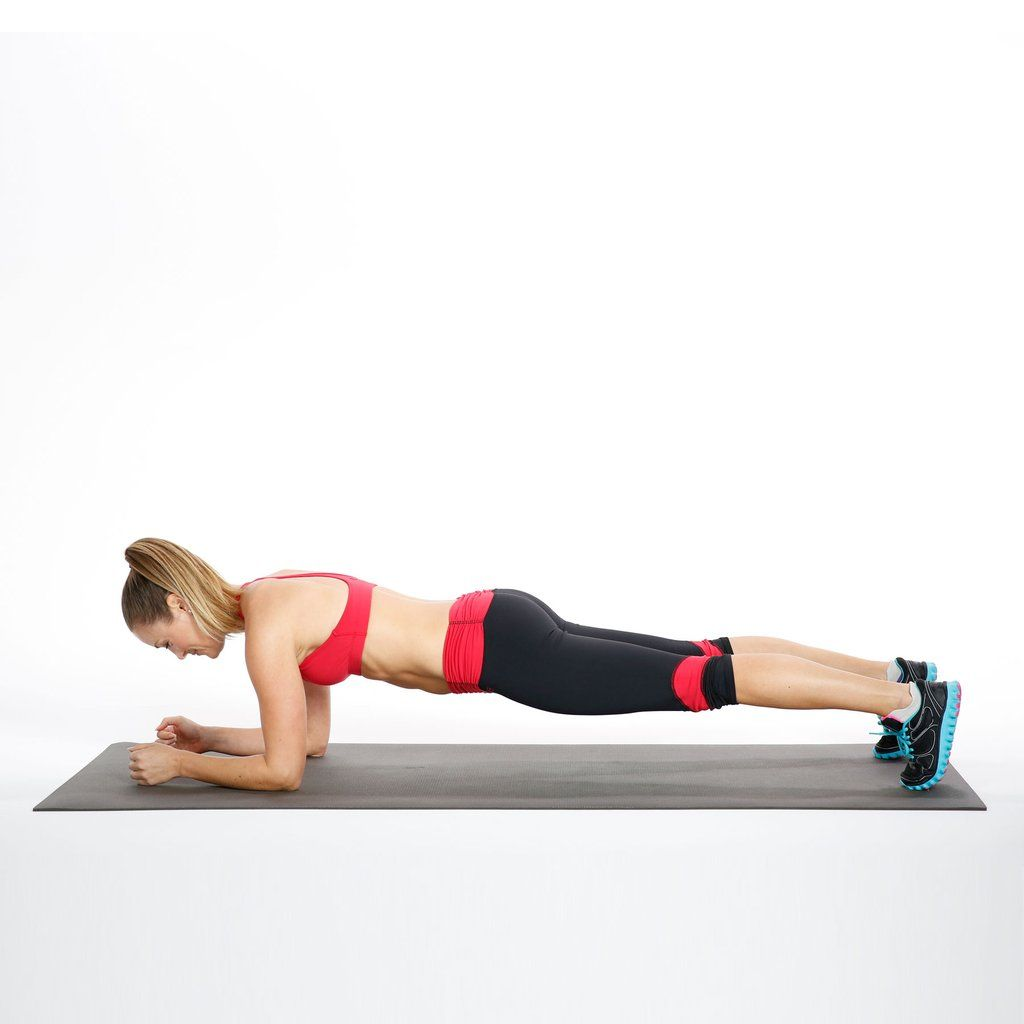 Elbow Plank With Hip Dips Abs Workout Plank Workout Body Weight Ab Workout
