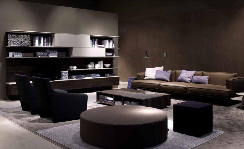 Zona soggiorno #divani #poltrone e #puffo | Morganti Arredamenti ...