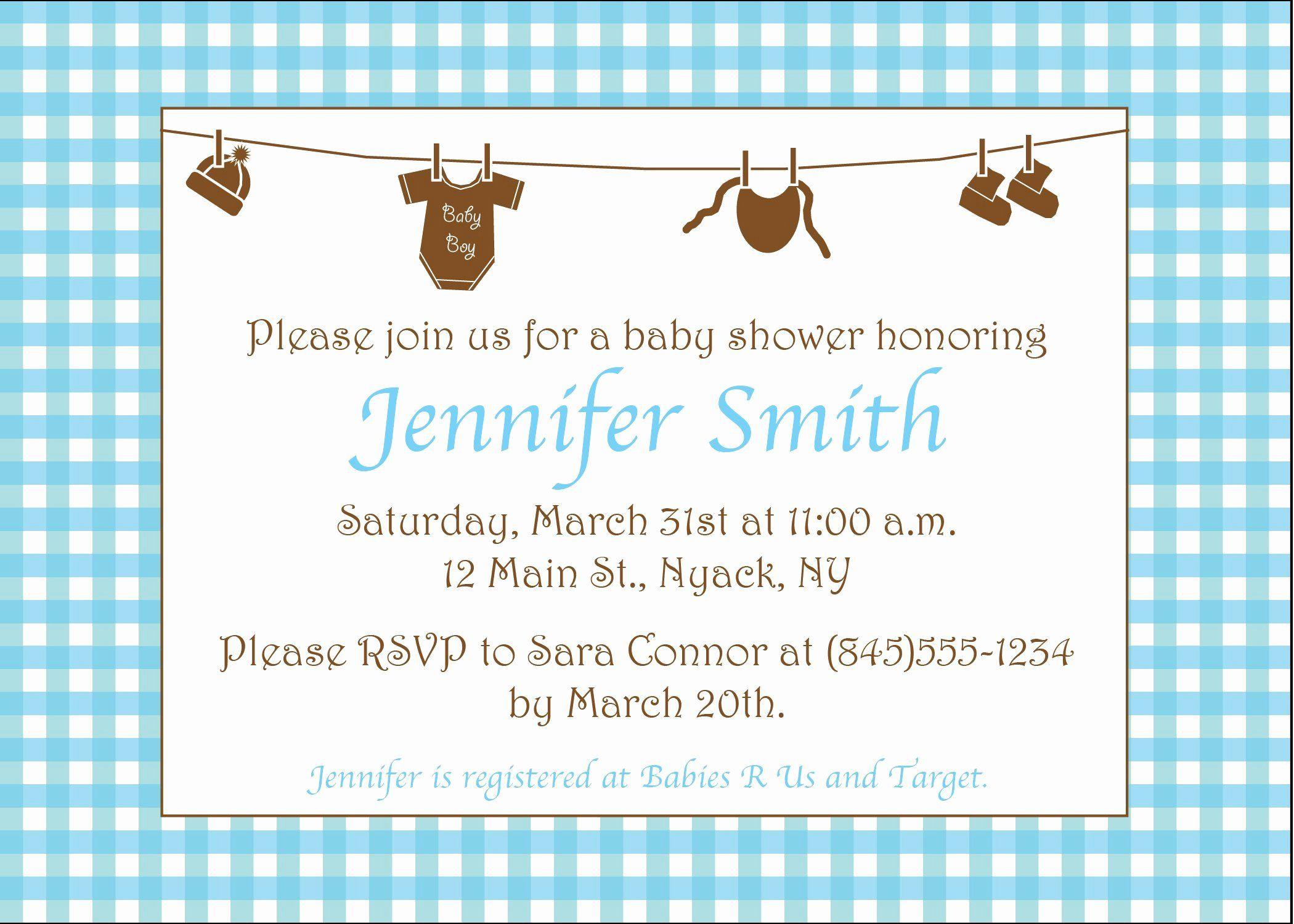 Sample Baby Shower Invitations Fresh Birthday Invitation Mickey Mo Baby Shower Invitation Cards Baby Shower Invitation Wording Baby Shower Invitations For Boys