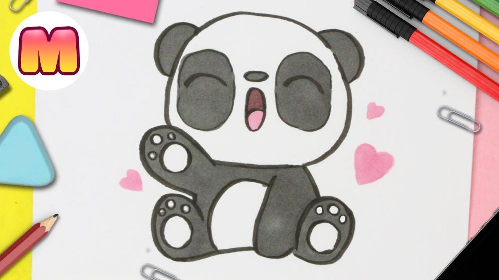 Como Dibujar Un Panda Kawaii Paso A Paso Dibujos Kawaii Dibujos Kawaii Dibujos Kawaii Faciles Panda Kawaii