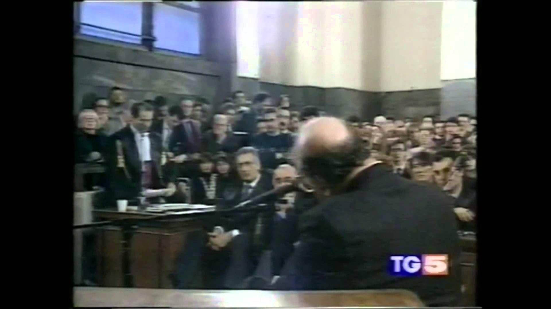 Bettino Craxi come non lo avete MAI ascoltato, MAI!
