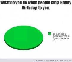 Awkwardness of birthdays