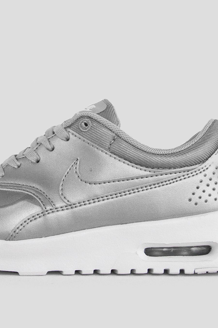 NIKE WOMENS AIR MAX THEA SE METALLIC SILVER
