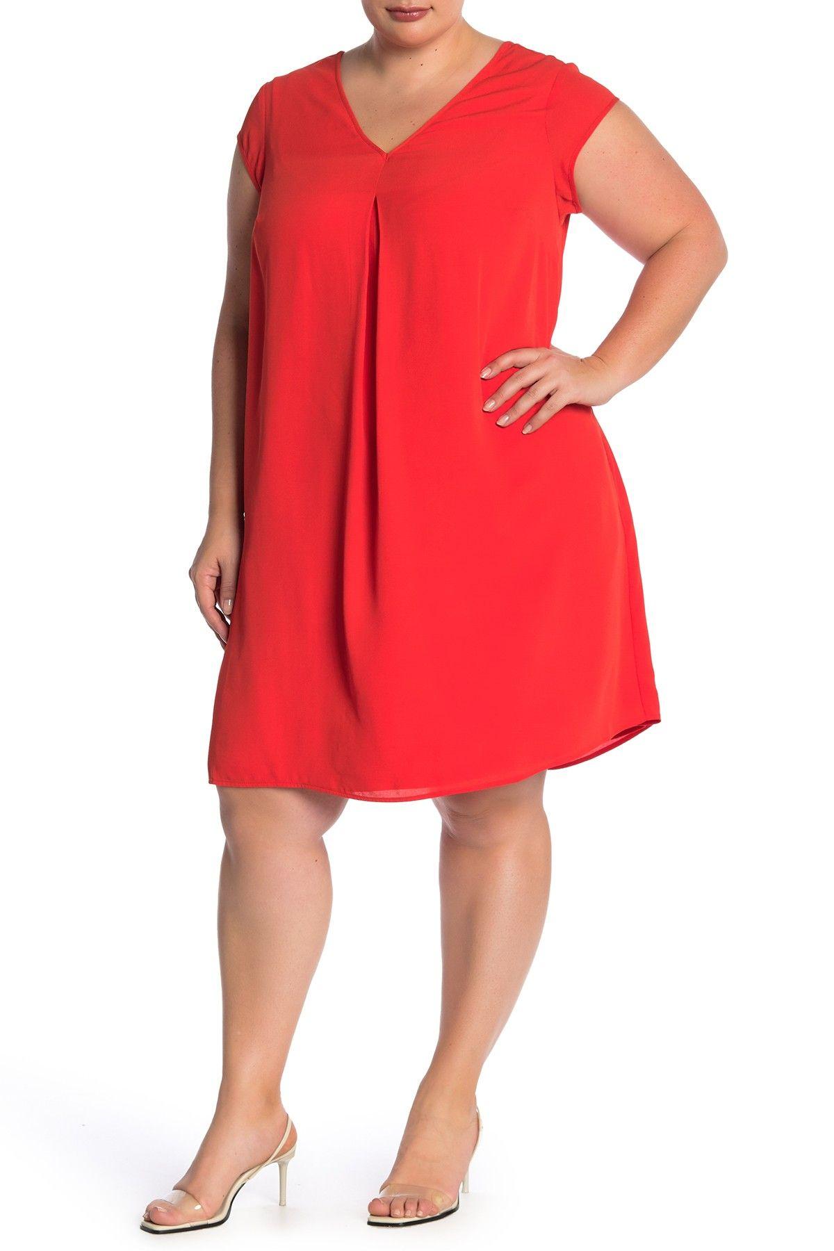 c1387eb38 Double V Woven Dress (Plus Size) by DR2 by Daniel Rainn on @nordstrom_rack