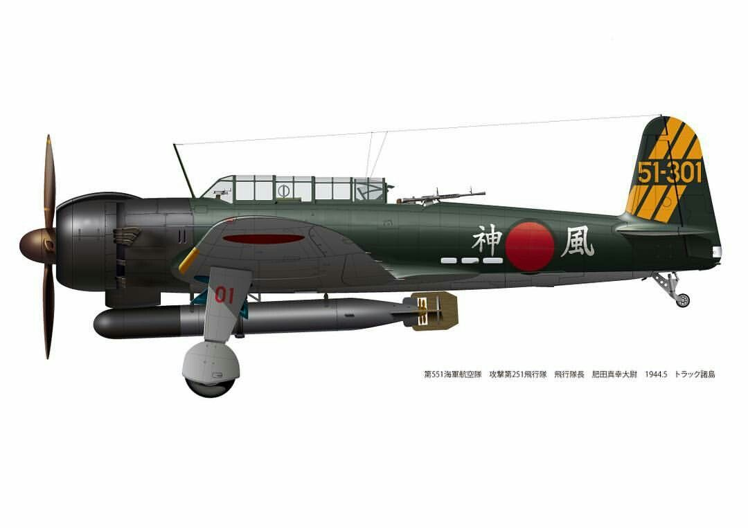 551°Kokutai, 1944.