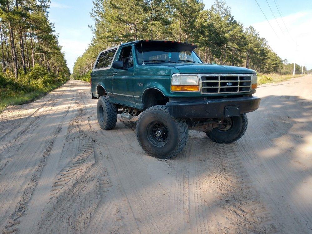 96 bronco bronco monster trucks trucks