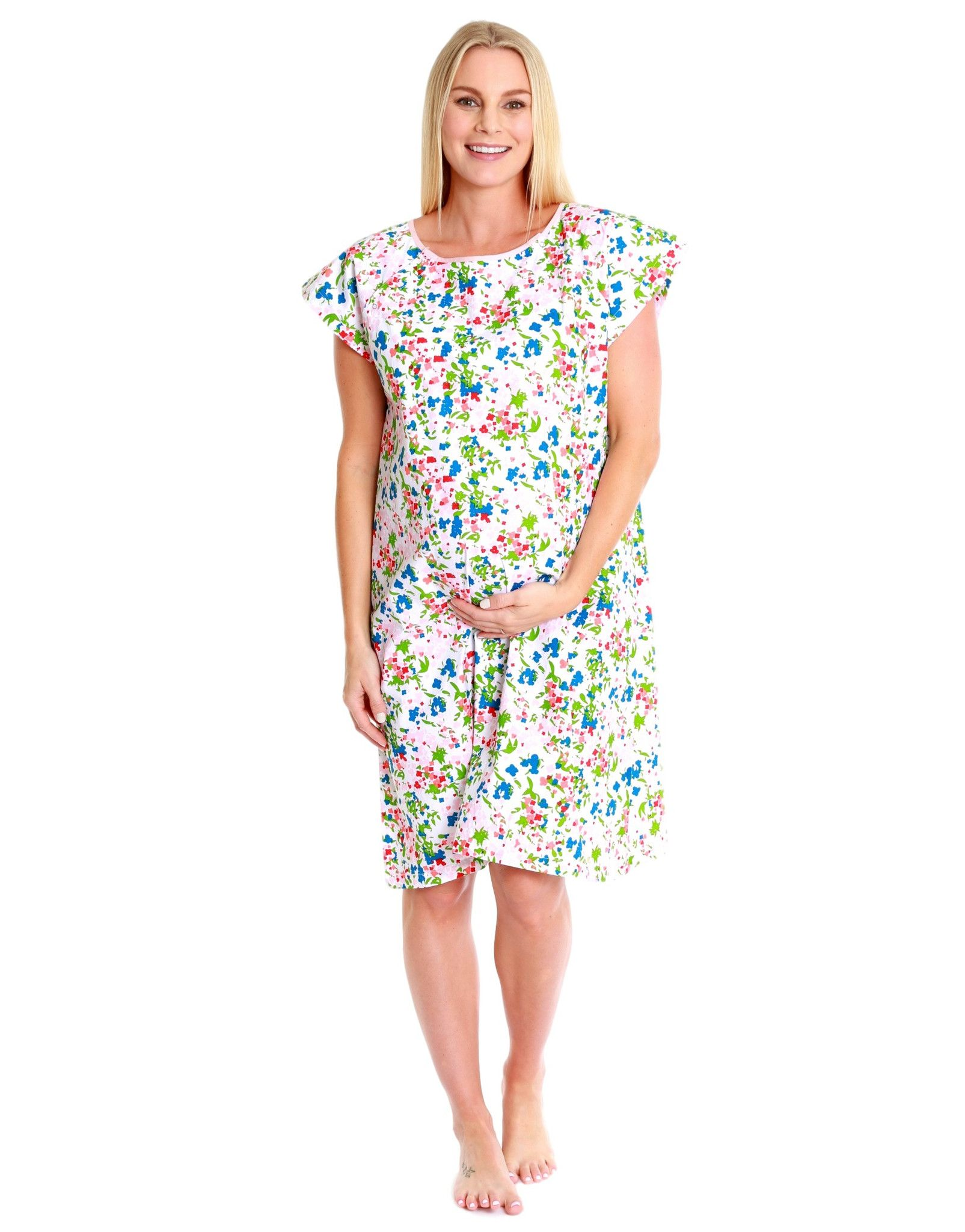 Emma Gownie Maternity Delivery Labor Hospital Birthing Gown ...