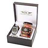 Amazon Angebote Herrenuhren Geschenkset Armbanduhr mit Bonbon Humbugs Wendy 's Candies–-Kunsthandwerk–Berlingot…%#Quickberater%