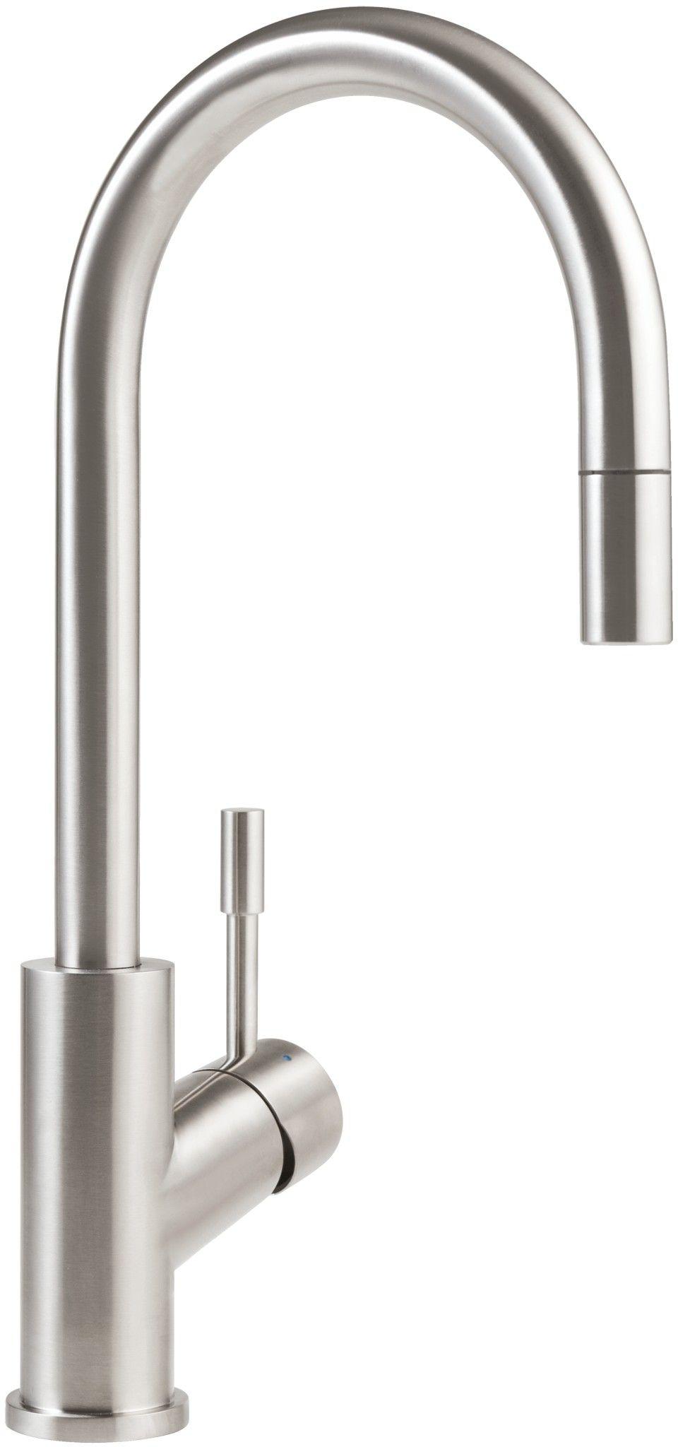 Villeroy Boch Umbrella Stainless Steel Kitchen Sink Mixer Tap