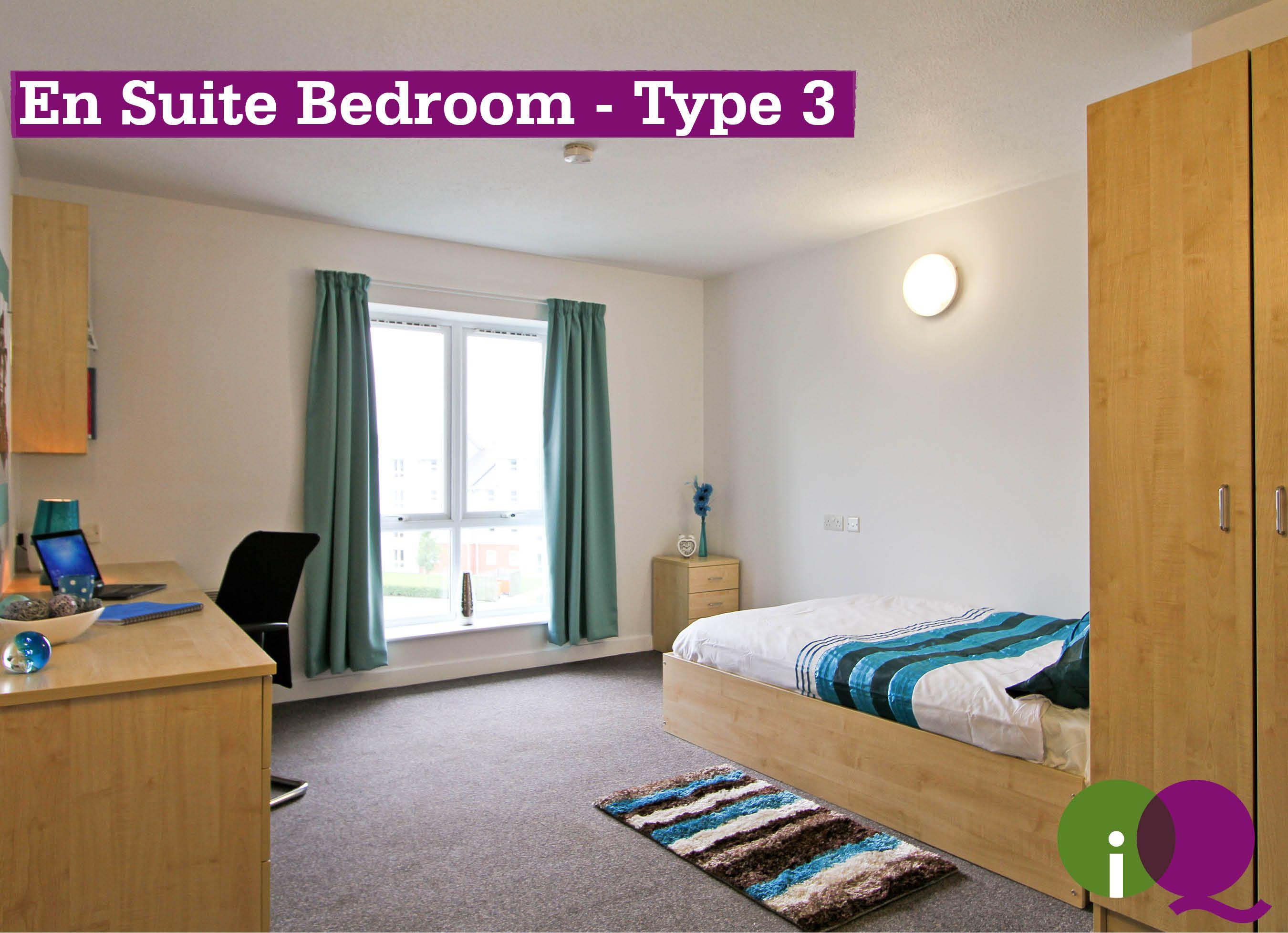 En Suite Bedroom Type 3 Salford Manchester iQSalford – Bedroom En Suite