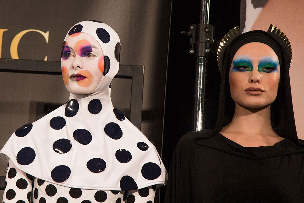 Thanks To Mac Cosmetics I Was So Lucky To Be Able To Attend Kabuki Magic Masterclass In Milan Kabuki Mac Cosmetics Creative Makeup