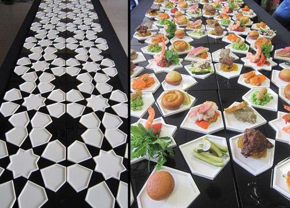 zellifood décoration marocaine Themes and food Pinterest