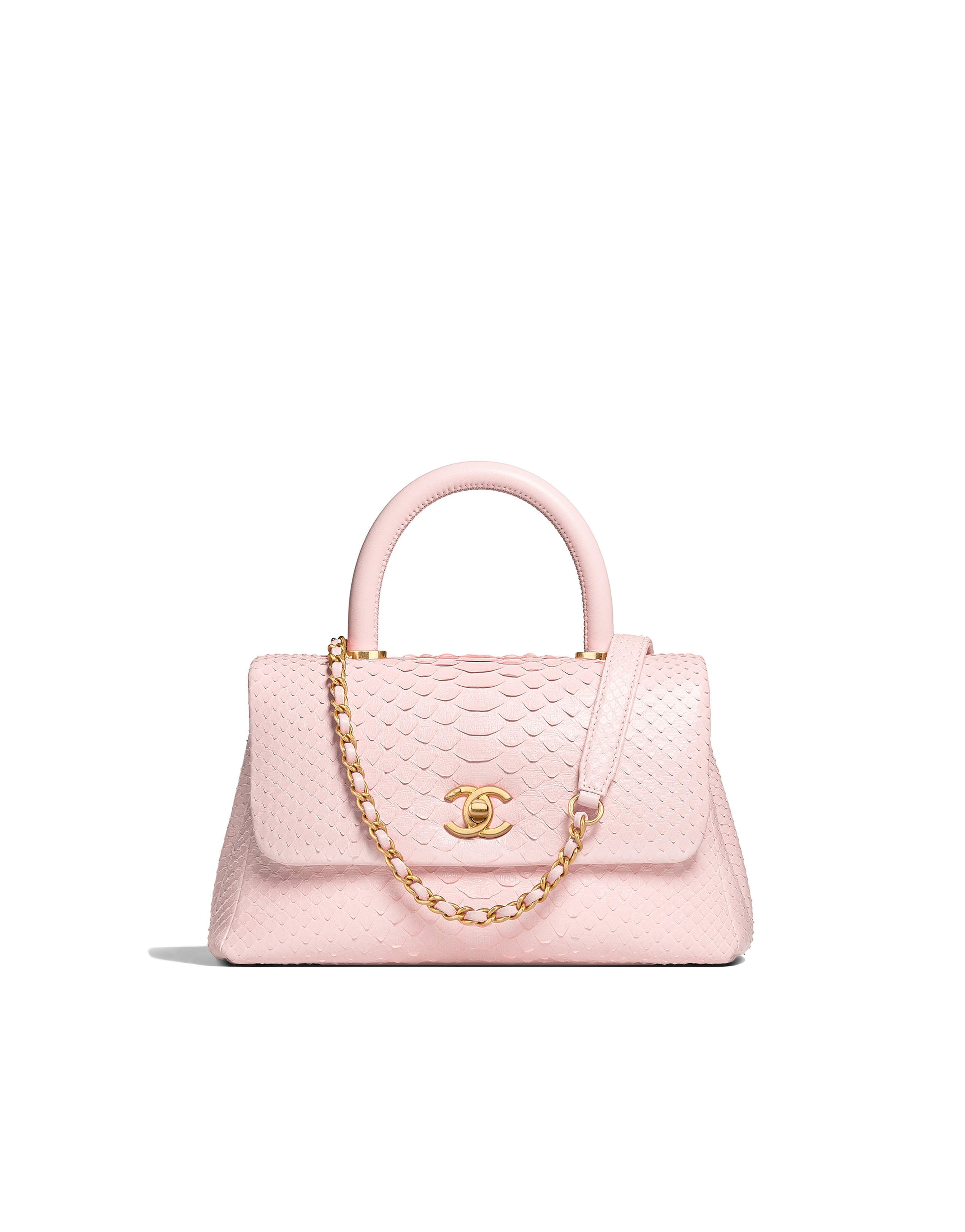 b48a8287427d Chanel - Cruise 2017/2018 | Baby pink flap bag with top handle ...