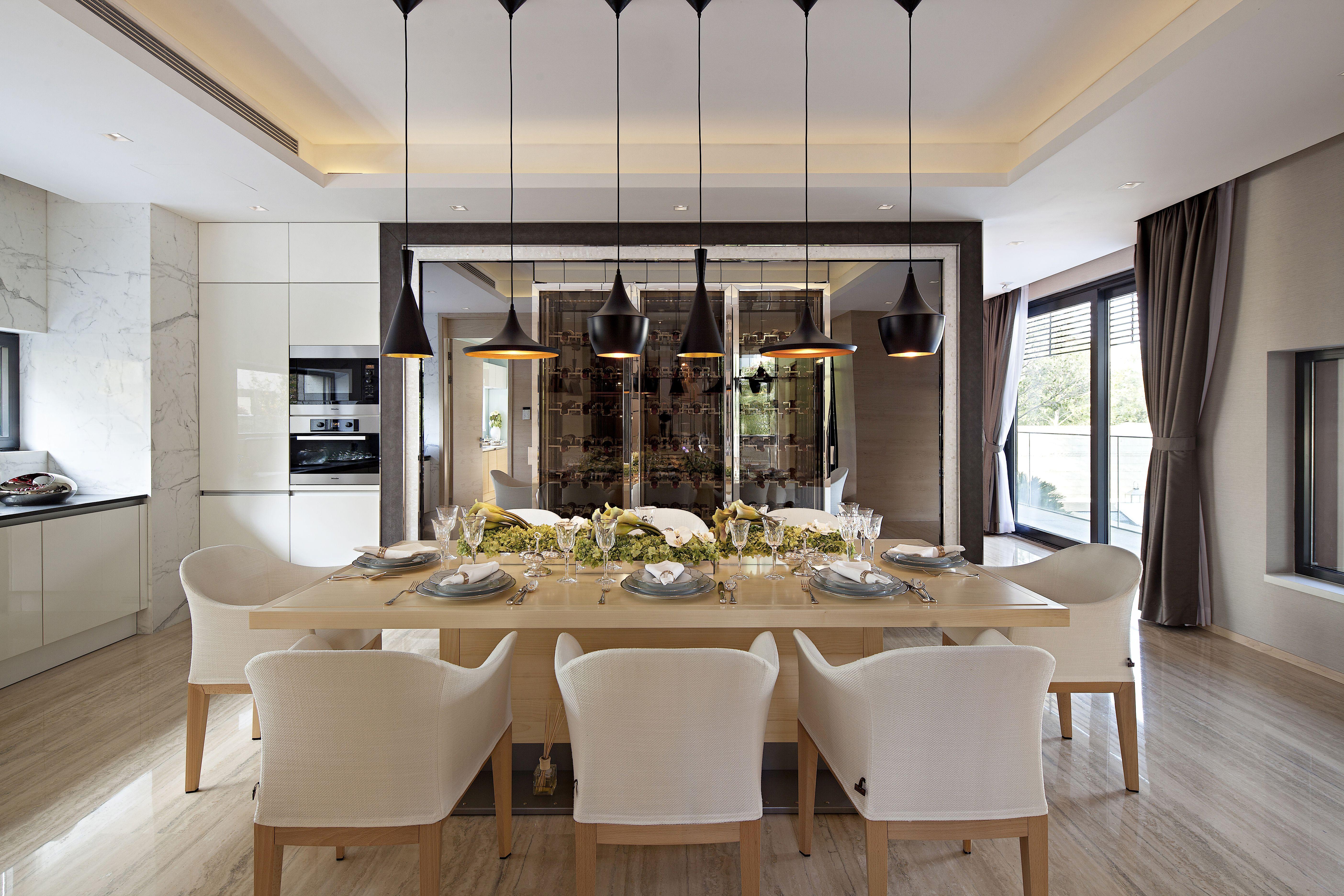 Private villa | Design della sala da pranzo, Sala da ...