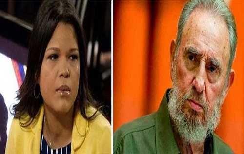 Las palabras de María Gabriela Chávez sobre la muerte de su abuelo Fidel Castro
