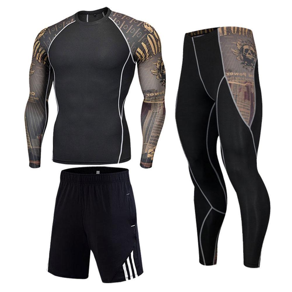 No Gi Jiu-Jitsu Long Sleeve Rash Guard, Leggings & Shorts Kit Submit everyone that crosses your path in this stylish long