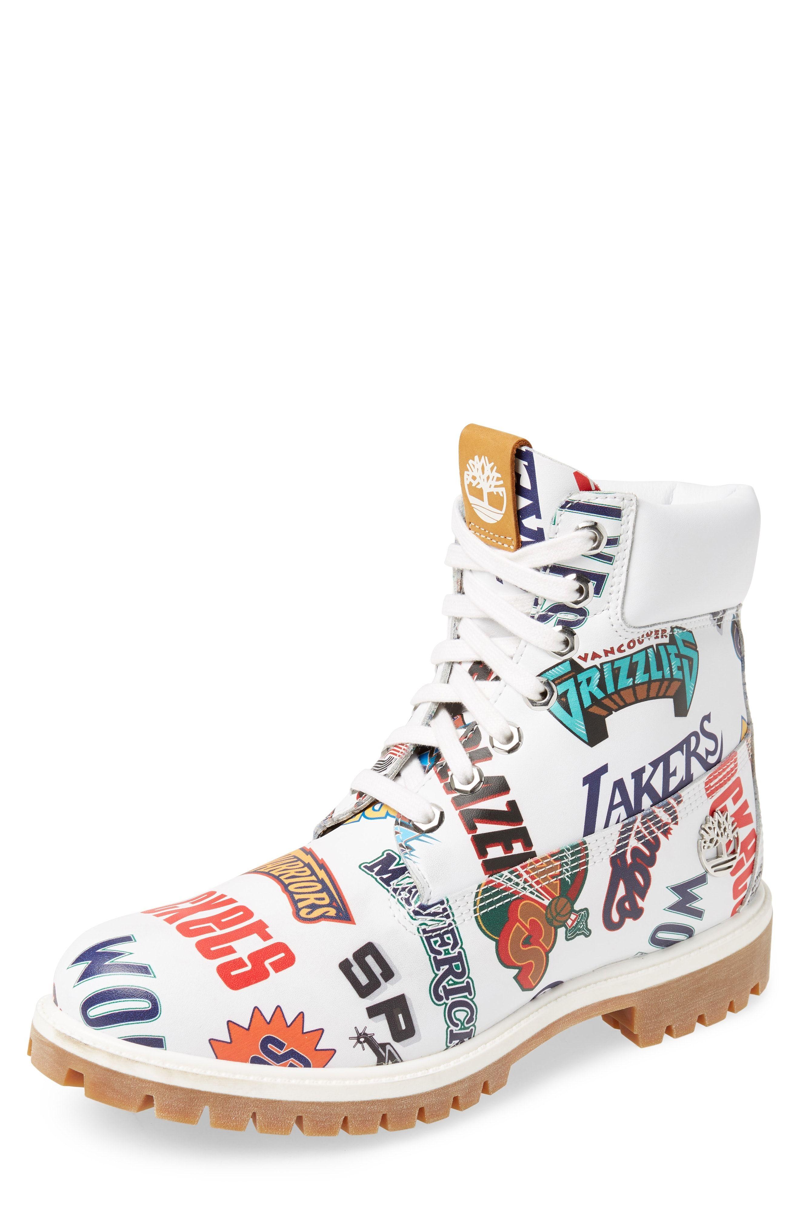 70117a89763 TIMBERLAND PREMIUM NBA COLLECTION BOOT. #timberland #shoes ...
