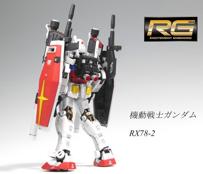 Pin de Johannes Paolo Soriano en RG Gundam Builds