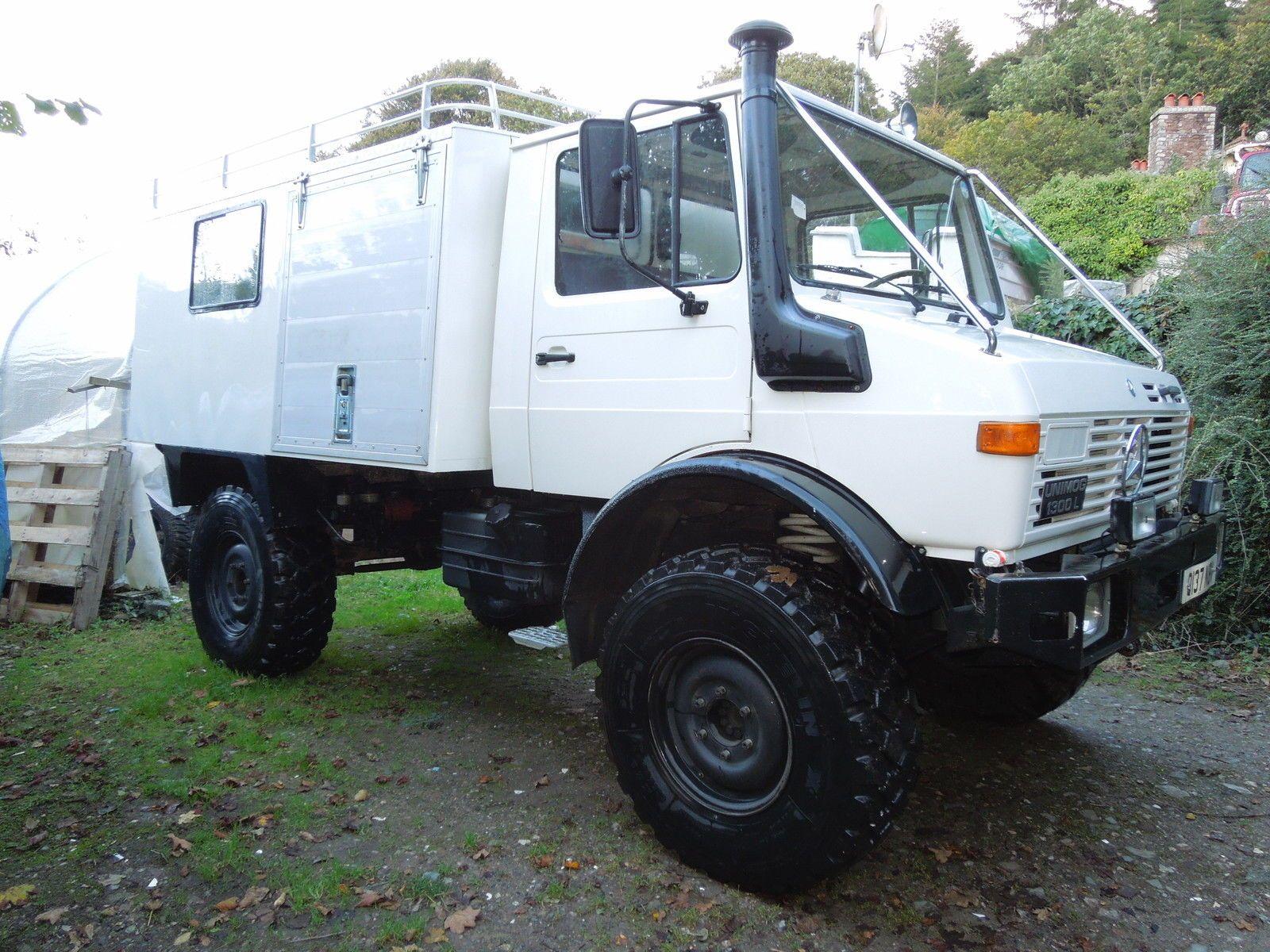 Mercedes Unimog 435 Expedition Overland Camper Paris Dakar