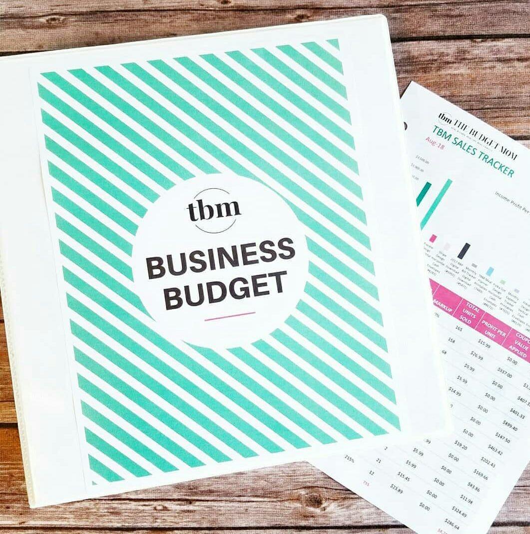 Business Budget Worksheets Excel