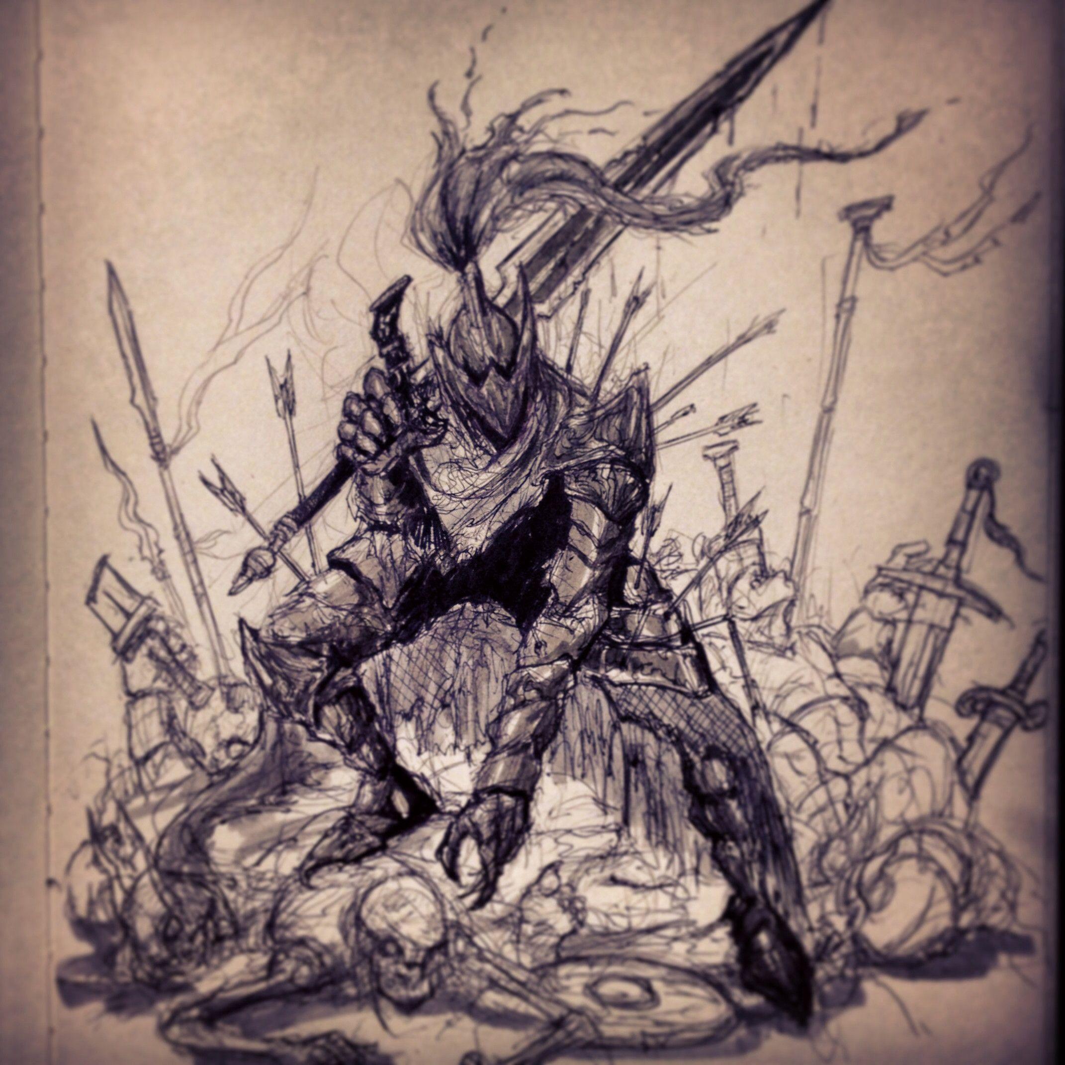 Artorias senpai (Dark Souls). - Imgur